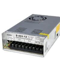 伊莱科 开关电源S-400-12 DC12V工业电源 监控安防电源 400W