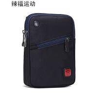 男士斜挎包穿皮带6.3寸手机包多功能腰包单肩休闲迷你小挂包