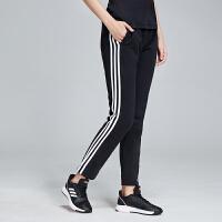 adidas阿迪达斯女服运动长裤2019新款针织三条杠运动休闲运动服DP2373