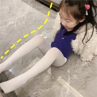 儿童连裤袜夏季薄款女童打底裤袜宝宝白色丝袜