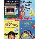 【预订】4 Spanish-English Books for Kids
