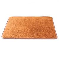 吸水珊瑚绒进门地垫 卧室门垫脚垫厨房地毯浴室门口滑垫J 59.5x40cm