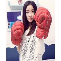 儿童搞怪拳套绿巨人生日礼物毛绒玩具蜘蛛侠拳击手套