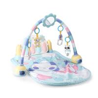 宝宝音乐游戏毯玩具0-1岁婴儿脚踏钢琴健身架3-6-12个月