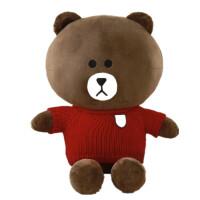 布朗熊公仔可妮兔抱抱熊毛绒玩具玩偶娃娃生日七夕情人节礼物女生