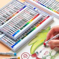 日本樱花牌油画棒蜡笔25色36色50色儿童宝宝彩色腊笔安全无毒油棒笔油花棒套装幼儿园