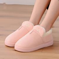 月子鞋春秋产后保暖厚底秋冬产妇鞋子防滑软底包跟冬季孕妇棉拖鞋