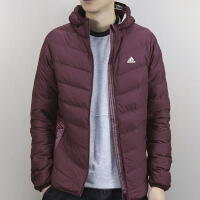 Adidas阿迪达斯 男子 运动外套 连帽防风保暖羽绒服 BQ4157