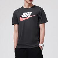 耐克Nike2018男装短袖T恤运动服运动休闲696708-013