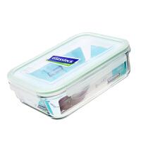 三光云彩GLASSLOCK钢化耐热玻璃饭盒微波炉便当盒保鲜盒RP533