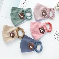 口罩立体防尘透气可清洗易呼吸纯棉成人新款棉质粉尘可爱韩版口罩