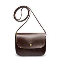 七夕礼物软皮小包包复古包 斜跨包复古小方包迷你小挎包手机包 女包 棕色送卡包香包 运费险