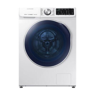 三星(SAMSUNG)9公斤洗烘一体机多维双驱滚筒洗衣机双驱双电机白色WD90N64FOAW/SC 急速配送到家,正品全国联保
