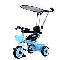 儿童三轮车自行车宝宝/小孩脚踏车带娃手推车1-3-5岁