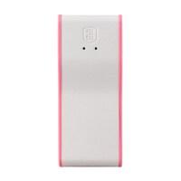POWERQUEEN电母 盒电站系列PQ002 4400mAh 安全型移动电源 充电宝 粉红色