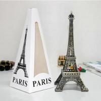 埃菲尔铁塔模型桌面摆件学生礼品创意毕业季礼物送老师同学