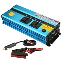 12V/24V转220V车载电源转换器家用大功率逆变器带USB插座汽车充电器车用点烟器