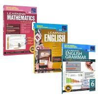 学习系列数学英语语法3册六年级Learning Maths English Grammar Grade 6新亚出版社教