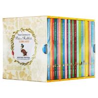 彼得兔1-23册盒装 Peter Rabbit 23 Volume Library 英文原版 Beatrix Potte