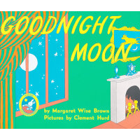Goodnight Moon 60th Anniversary Edition [Paperback]晚安,月亮(60