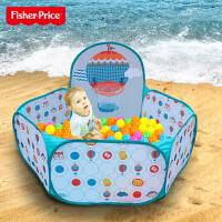 海洋球球池儿童围栏游戏屋彩色投篮波波球宝宝室内游乐场玩具