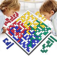 角斗士棋2-4人方格儿童游戏棋类亲子互动益智桌面玩具俄罗斯方块
