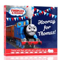 英文原版绘本Thomas and Friends托马斯和他的朋友们系列Hooray For Thomas托马斯万岁 儿