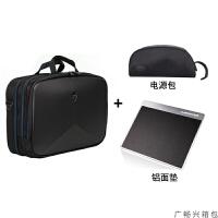 电脑包17.3寸18年新款外星人电脑手提单肩包背包15.6 通用挎包L 其它尺寸