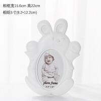 5寸6寸ins韩式宝宝相框摆台创意卡通可爱照片框儿童像框现代简约 卡通树脂相框