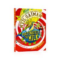 进口英文原版 幸好有牛奶 Fortunately the Milk 儿童文学作品 同名电影 爸爸去哪儿了 尼尔盖曼Ne