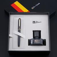 毕加索钢笔T916成人商务办公男女学生练字书法礼盒定制刻字