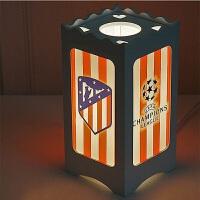 足球队标皇马C罗梅X阿森纳利物浦切尔西尤文图斯德国恒大礼品夜光台灯