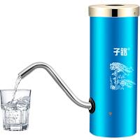 子路电动抽水器桶装水支架纯净水桶饮水机水龙头充电式压水上水器