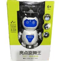 点亮炫舞王跳舞机器人智能发光发声激光机器人男孩女孩早教益智礼物