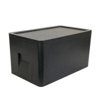 保温箱EPP泡沫箱外卖快餐箱海鲜配送箱保鲜冷藏箱45升【好乐康】