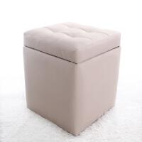 收纳凳子储物凳可坐成人门口穿鞋凳换鞋凳式多功能简约现代小椅子
