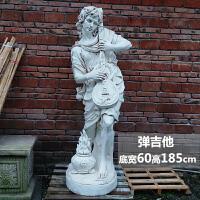 园林景观人物雕塑大型摆件花园石膏玻璃钢装饰艺术品户外天使雕像房间