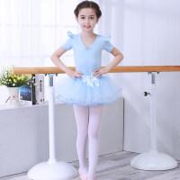 儿童舞蹈服装女童秋冬季加绒加厚练功服幼儿长袖考级服装春夏芭蕾舞裙