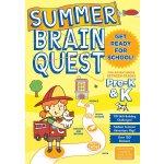 Summer Brain Quest Pre-k&k大脑任务暑期练习册 英文原版 美国学前练习获奖系列 学龄前