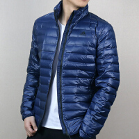 Adidas阿迪达斯 男子 运动羽绒服 中长款保暖防风羽绒外套 BQ7774