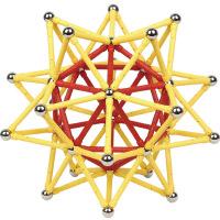 磁力棒�和�玩具�e木5.8CM�L棒磁性磁�F智力拼�b吸�F石3�q以上