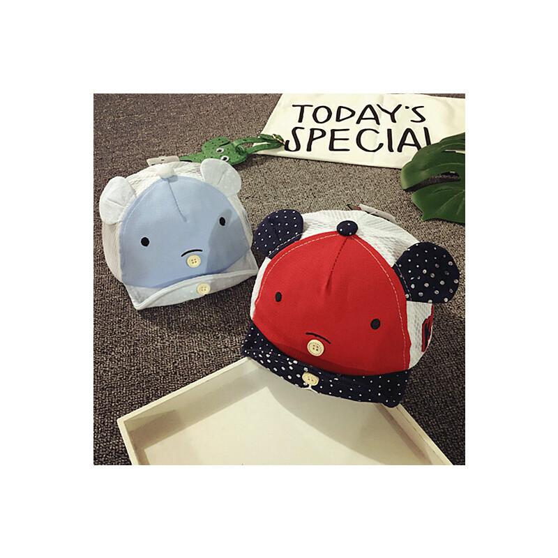 儿童鸭舌帽春夏网眼薄款男童棒球帽女宝宝帽子6-个月婴儿帽遮阳 发货周期:一般在付款后2-90天左右发货,具体发货时间请以与客服协商的时间为准
