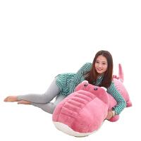 毛绒玩具鳄鱼公仔睡觉抱枕可爱玩偶女生日礼物长条枕头