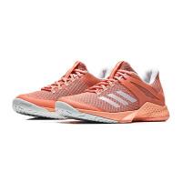 【7.18开抢 满100减20 满279减100】adidas阿迪达斯女子网球鞋2018新款网球比赛训练运动鞋CM77