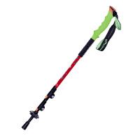 登山杖7075 铝合金外锁伸缩手杖男女 绿色手柄