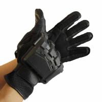 户外野营手套AK攻击手套半指战术手套战术格斗手套军迷手套防滑特种兵作训手套