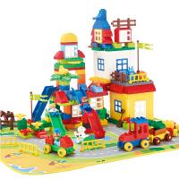 儿童男孩女孩积木玩具塑料组装拼插拼装积木玩具