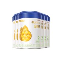 惠氏启赋(Wyeth illuma)2段奶粉 爱尔兰进口 6-12月较大婴儿配方 900克*6罐