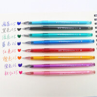 晨光文具彩色中性笔AGPA5701钻石头笔学生可爱中性笔0.5水笔