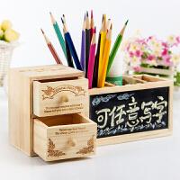 多功能笔筒 韩国diy生日礼物送儿童学生定制送男女生闺蜜实用毕业小礼品创意